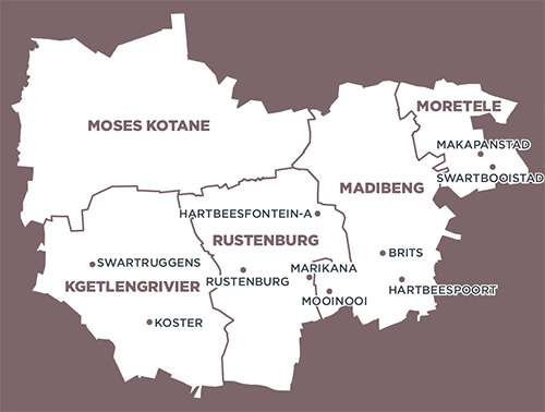 locals view rustenburg local municipality