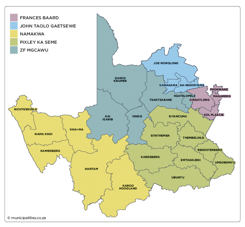 Northern Cape Municipalities